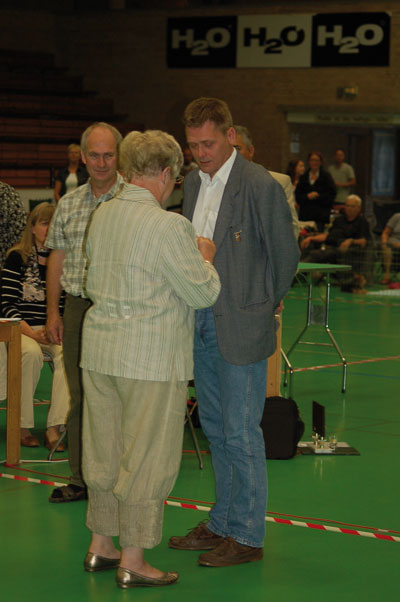 DTK's guldnål til Michael W. Andreasen